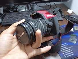 Kamera Canon 1100D Mulus