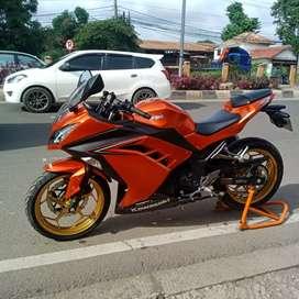 Ninja 250 fi orange
