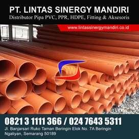 PIPA PVC AIR LIMBAH SDR 41 ORANGE MURAH DAN LENGKAP