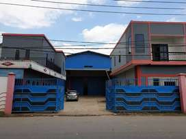 Jual Warehouse luas 13x36 eks Gudang Besi