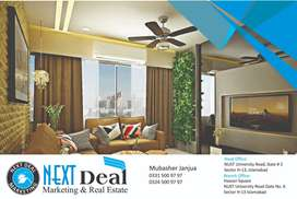 2-Beds Family Apartment Available MAIN NUST RD Brand New Sector H 13