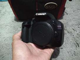 Canon 550D Mulusss Normal MURAH