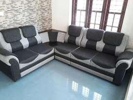 Half double bag sofa set