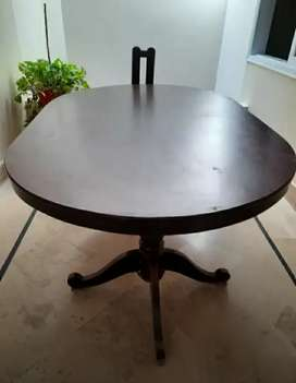 Dining Table Excellent  Without Chairs
