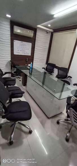 1 cabin 1 conference 20 workstations office in Vasundhara.