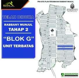 "Rabbany Munjul, Telah dibuka tahap 2 ""blok G"" unit terbatas"