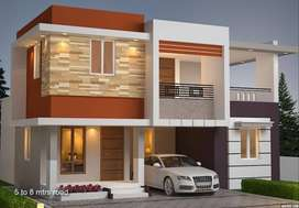 1500 sqft, 3 BHK spacious villa for sale in palakkad for just 35 lakhs