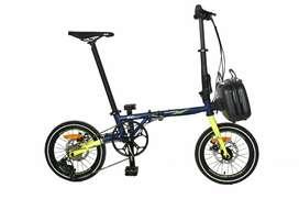Sepeda lipat Evergreen maximus