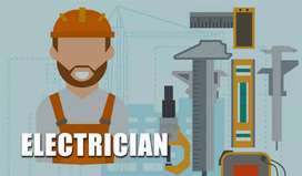 Electrician and helper needed