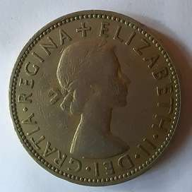 Two shillings 1957