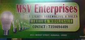 MSV ENTERPRISES (LED LIGHTS)