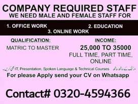 Online jobs for males and females of every age! Apply now!