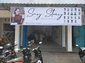 printing spanduk baner rontek mmt frainchaise say story Solo Raya