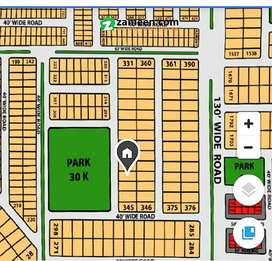 Plot 342 Facing Park For Sale In Grand Avenues At Reasonable price