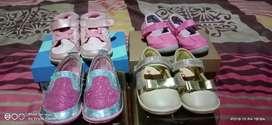Dijual paket sepatu anak dr ukuran 19 sampai 24