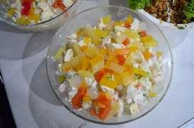 Russian salad, 4 weddings nd All occasion