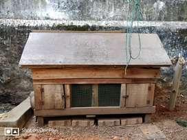 Hen Cage Wooden