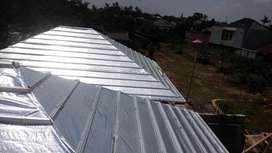 Jasa pemasangan atap baja ringan+kanopi Baja ringan Dan plafon PVC
