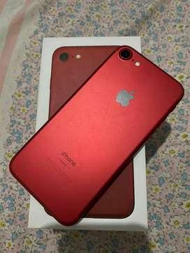 Iphone 7 128gb red edition fullset
