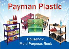 Plastic shoes rack and multipurpose house hold in 3 colors