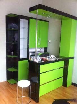 Kitchen Set / Minibar / Kamar Set / Lemari Bawah tangga