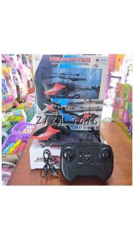 Mainan anak helikopter remot