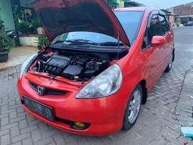 Jual Mobil Honda Jazz Merah Matic Triptonic 2004