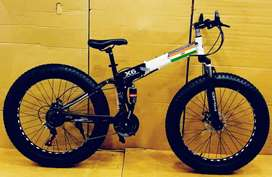 Fat Tyre Foldable Cycle BM Series Hybrid ,21 SHIMANO Gears BRAND NEW