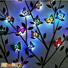 Cute Butterflies Multicolor LED Flashing Light