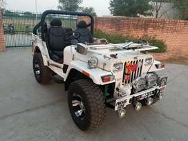 Modified Altered Open Jeeps ready on order in punjab all India deliver