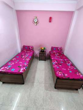 Hostel Rooms available for boys & Girls, well maintained property.