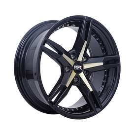 velg HSR-Keunikai Ring-17x75-H5x1143-ET40-Dark-Grey-Yellow-Face1