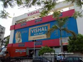 Direct joining in shopping mall for freshers candidate
