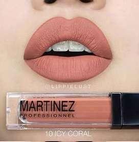Martinez lip cream matte fix 10 icy coral 8ml / matte fix lip cream