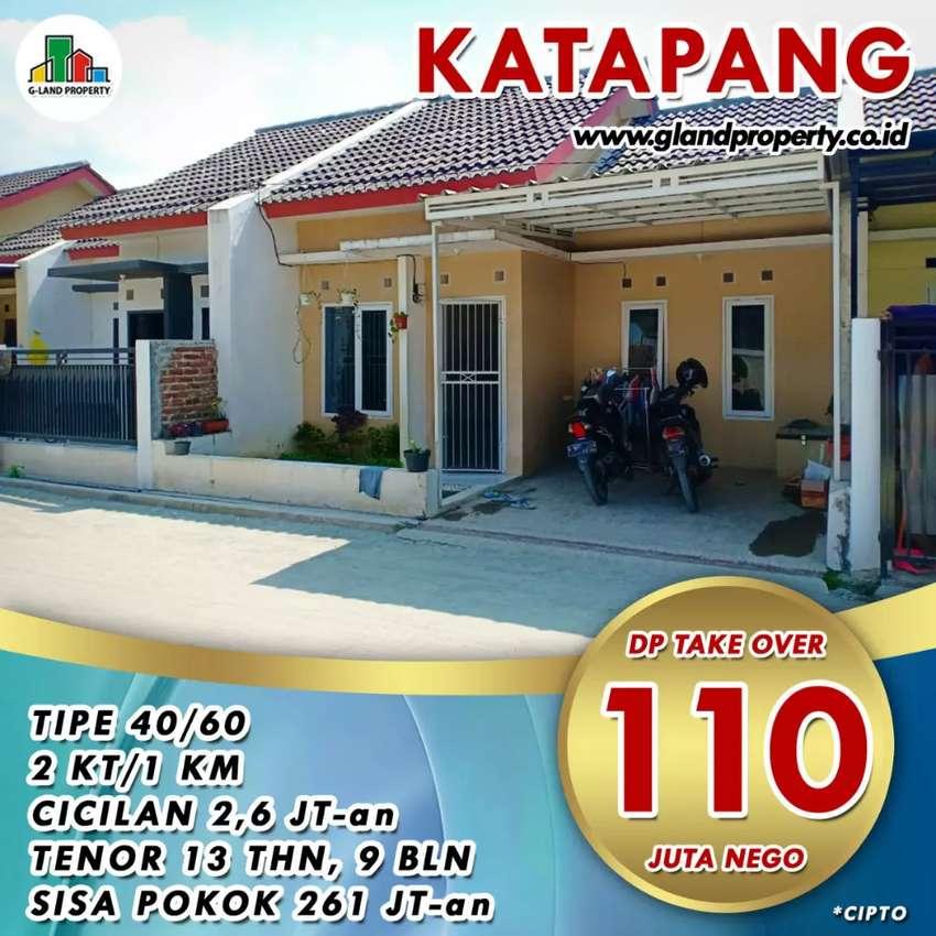 JARANG ADA!Rumah Over kredit MURAH Ccln 2.6jt SHMkopo ketapang,Tol TKI 0