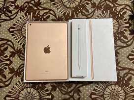 Ipad 6th generation 128 gb with apple pencil 19/10/19 indian bill