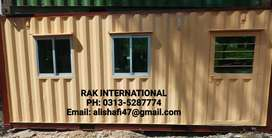 Prefab room Security guard cabins porta cabin container office toilet.
