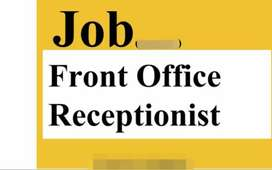 Need receptionist (front office executive) limited vacancy