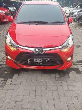 Toyota Agya G Automatic 1.2 2019 Merah