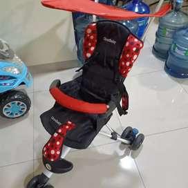 Stroller baru pernh pakai 1x ja.