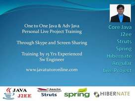 Online Java Tutor - Private Training by 15 Yrs Exp Sw -Live ProjectPro