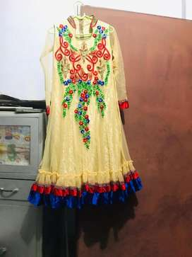Long frock for 12 to 13 yrs