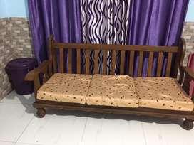 3piece cushioned sofa