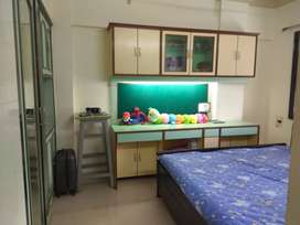 1bhk Semifurnished flat for Rent in Waghbil Ghodbunder road Thane West