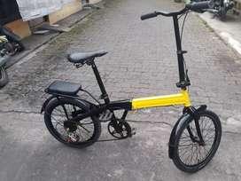 Sepeda Lipat Frame Lurus