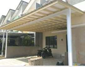 Kanopi atap panel alderon