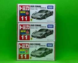 Tomica Ferrari spesial colour Silver nomer 11