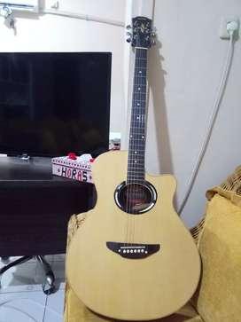 Gitar Yamaha  APX500 custom Mulus