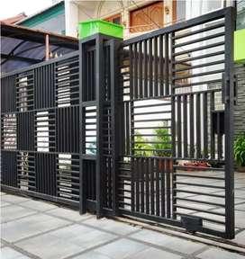 Bengkel las listrik,pembuatan pagar,pembuatan tralis,toko almunium