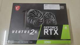 MSI GeForce RTX 3060 ventus2x 12GB Graphic card
